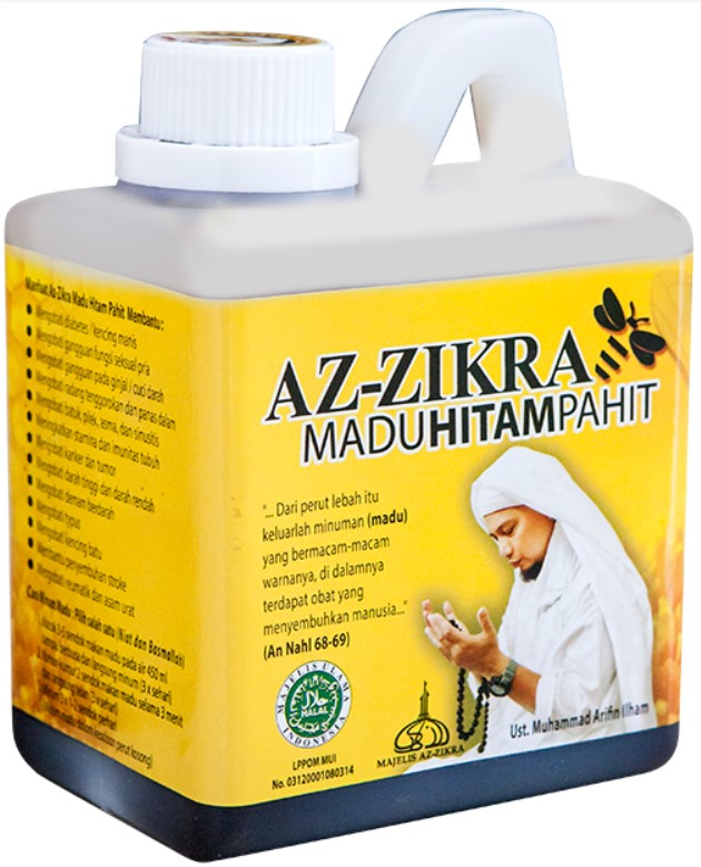 Madu Azzikra Herbal Pahit